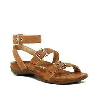 Vionic Sahara Ultrasuede Gladiator Sandals 9
